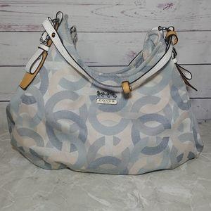 Coach Authentic Double Strap Shoulder Bag
